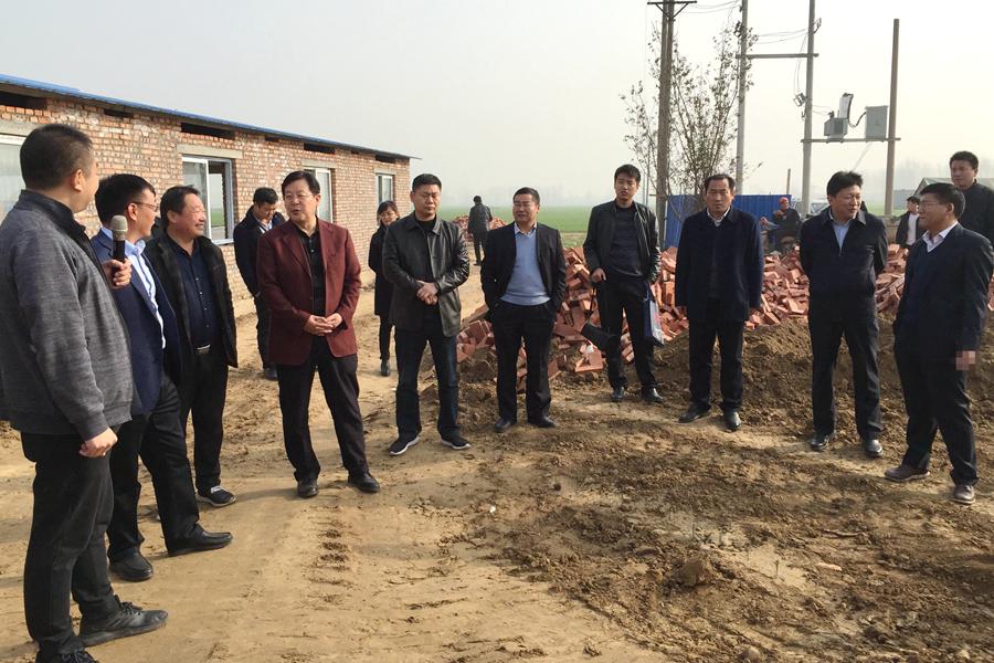 农开公司班子调研乡村振兴  布局明年工作